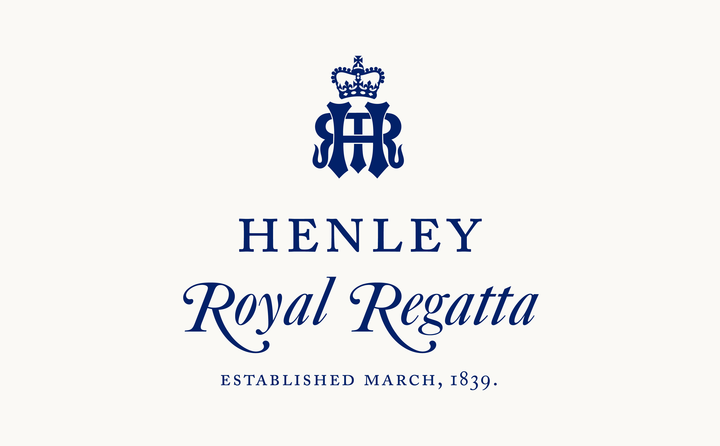 Henley Royal Regatta logo designed by Fitzroy and Finn
