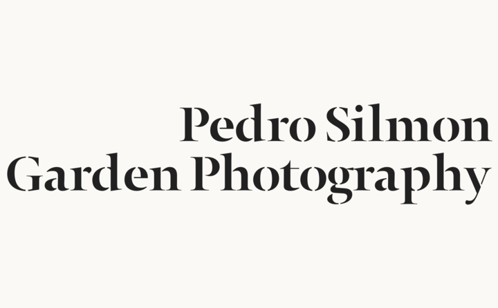 Pedro Silmon Garden Photography logo designed by Fitzroy and Finn