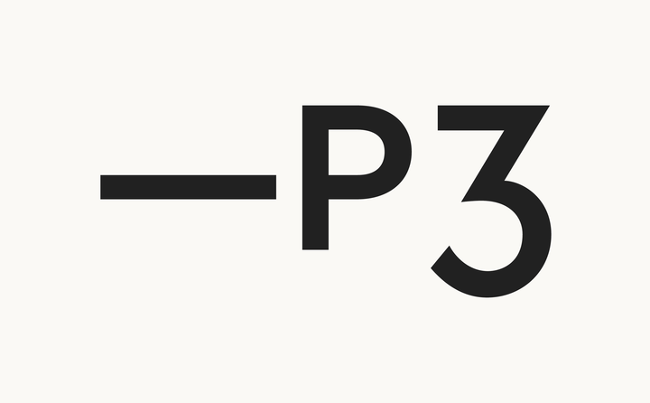 Platform3 logo designed by Fitzroy and Finn