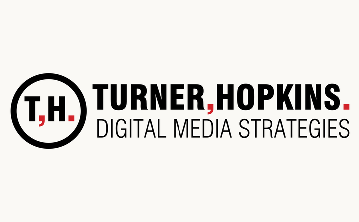 Turner, Hopkins. logo designed by Fitzroy and Finn