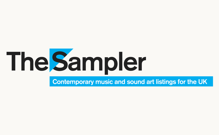 The Sampler logo designed by Fitzroy and Finn