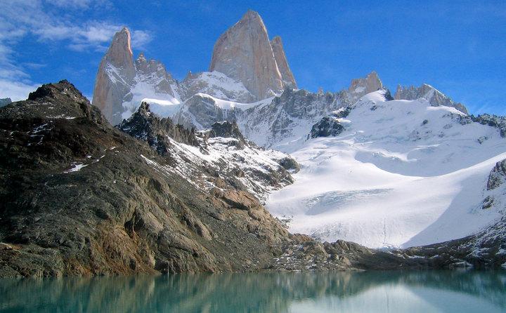 Laguna de Los Tres, Monte Fitz Roy, Patagonia, Argentina.