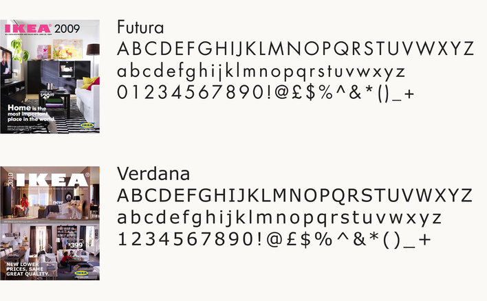 IKEA before and after Futura