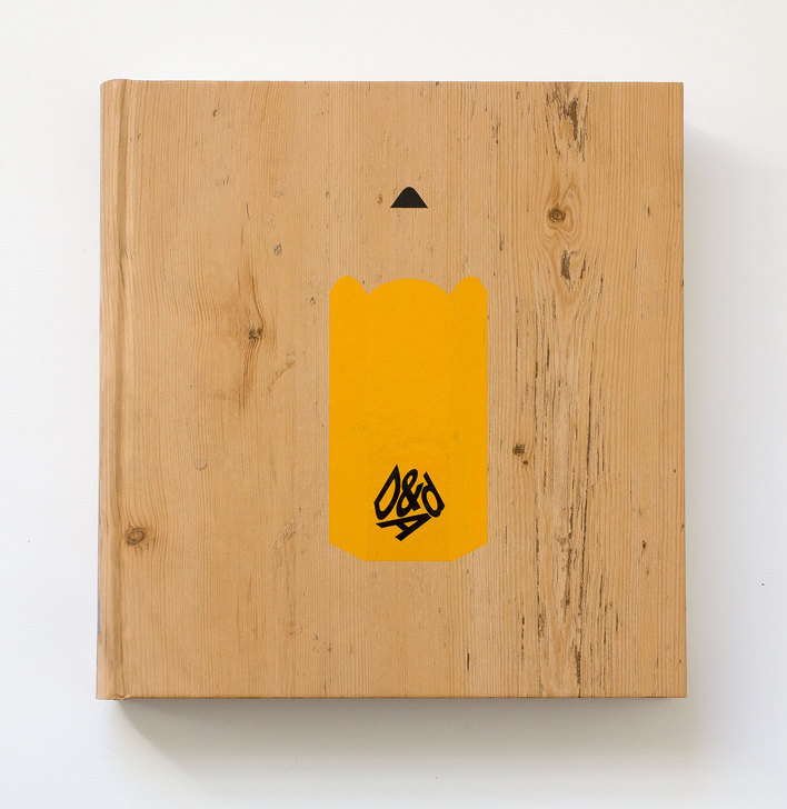 D&AD 2015 Annual designed by David Pearson, Alistair Hall and Paul Finn