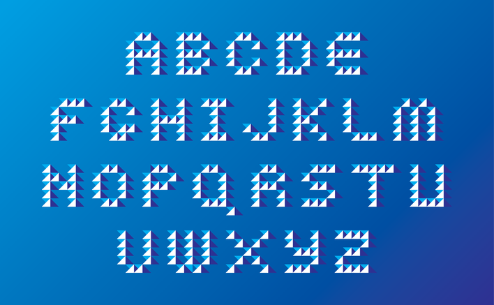Evolver Type designed by Fitzroy and Finn