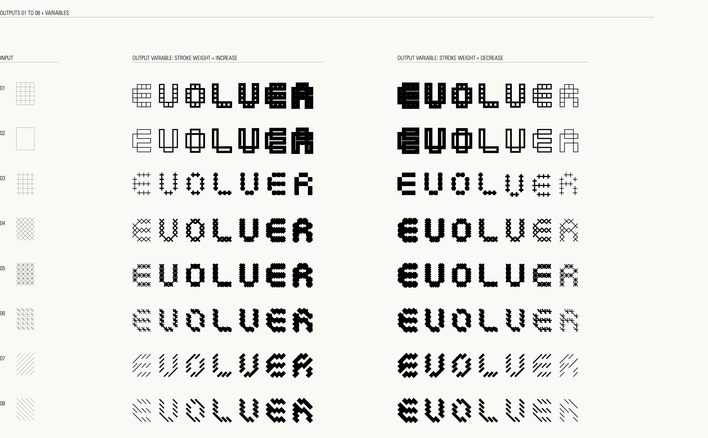 Evolver designed by Fitzroy and Finn