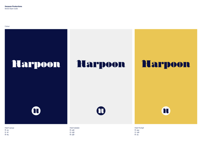Harpoon colour variation