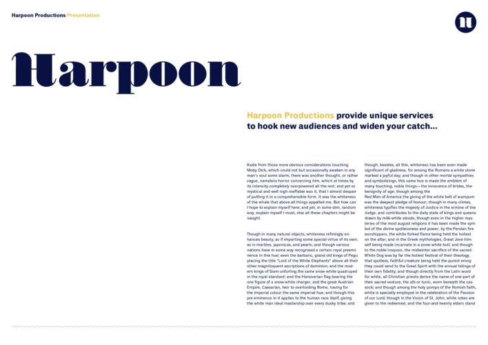 Harpoon presentation