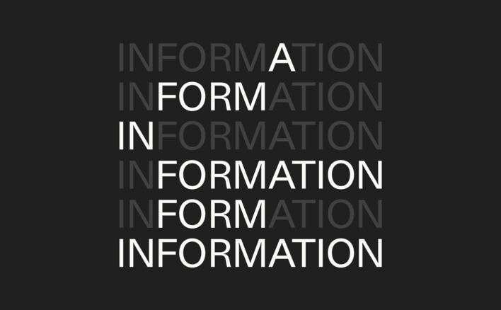 Information in formation