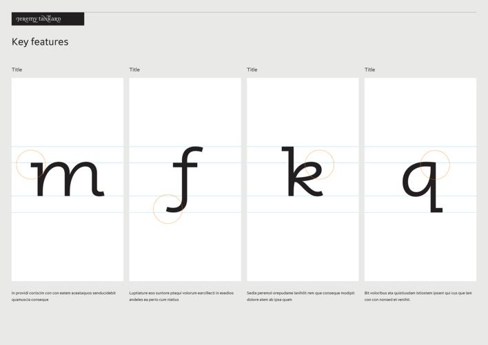 Jeremy Tankard Typography