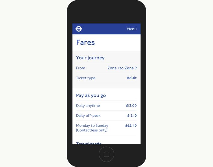 Projects: Transport For London | FITZROY & FINN