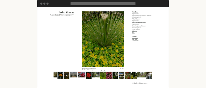 Pedro Silmon Garden Photography