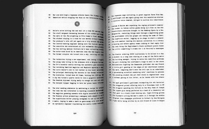 Georges Perec, Life A User's Manual (1978)