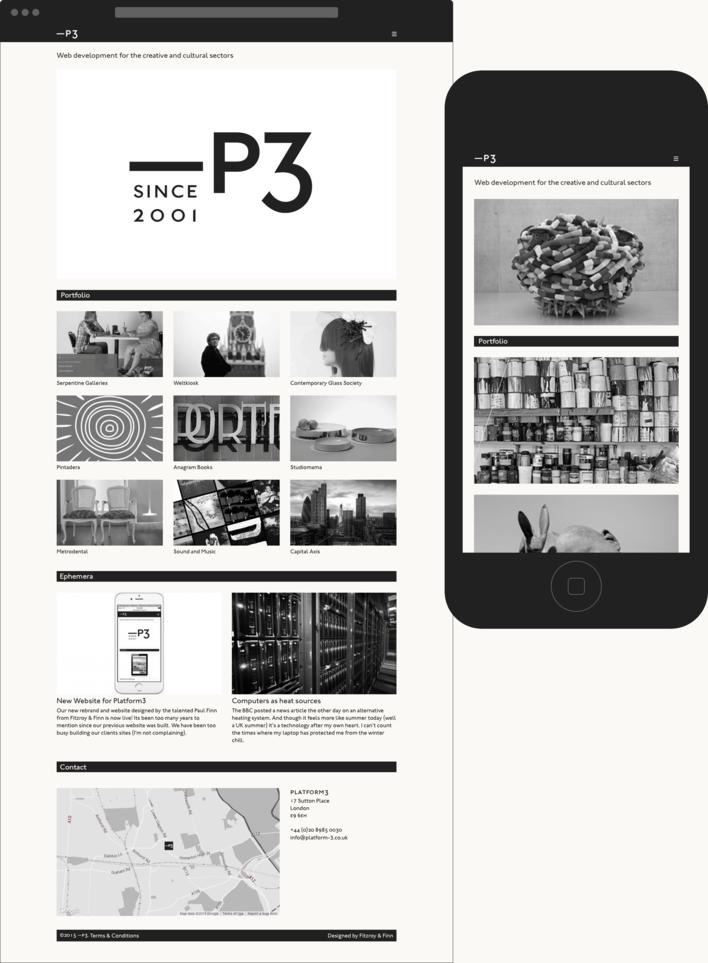 Platform3 website