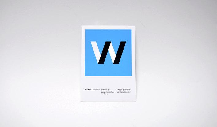 Weltkiosk logo designed by Fitzroy and Finn